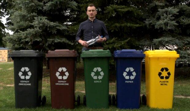 Segregacja odpadów/ YouTube @Telewizja Miejska Ropczyce