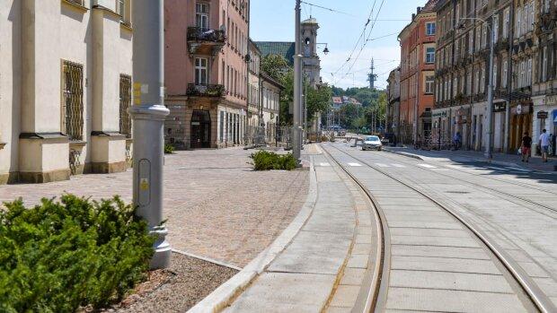 Zmiany w ruchu na ulicach krakowskich. Buduje się Krakowski Szybki Tramwaj