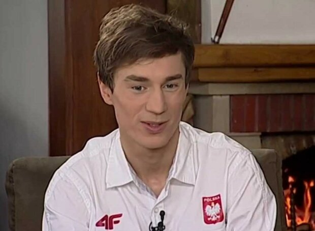 Kamil Stoch/screen Youtube @TVP Sport