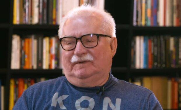 Lech Wałęsa. Źródło: Youtube tvnpl
