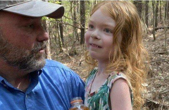 suczka Lucy ocaliła 4-letnią dziewczynkę, screen youtube
