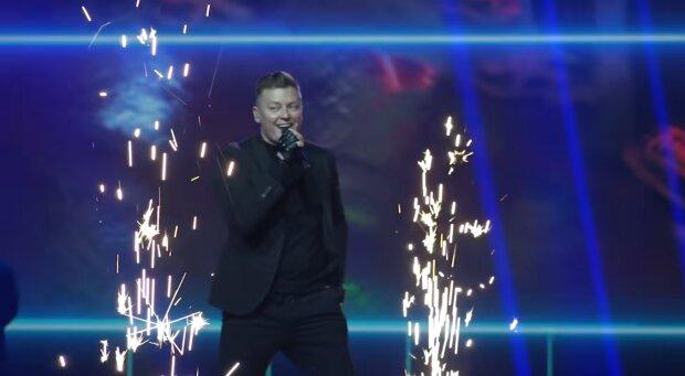 Rafał Brzozowski. Źródło: Youtube Eurovision Song Contest