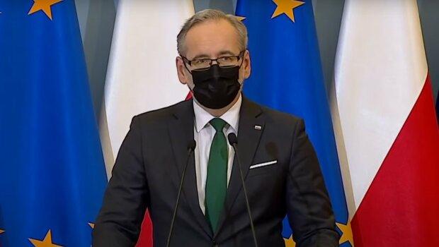 Minister zdrowia Adam Niedzielski / YouTube