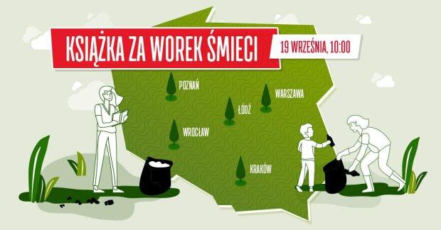 Warszawa: niebywałe wydarzenie nad Wisłą. Mieszkańcy stolicy wspólnie będą sprzątać środowisko, otrzymają w zamian podarunek. Jaki