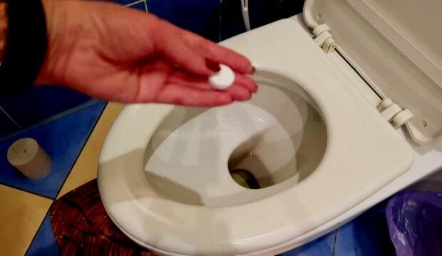 toaleta, screen YT