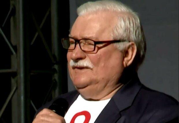 Lech Wałęsa/screen YouTube @Onet News