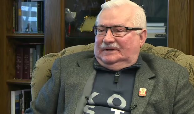 Lech Wałęsa/ screen YT