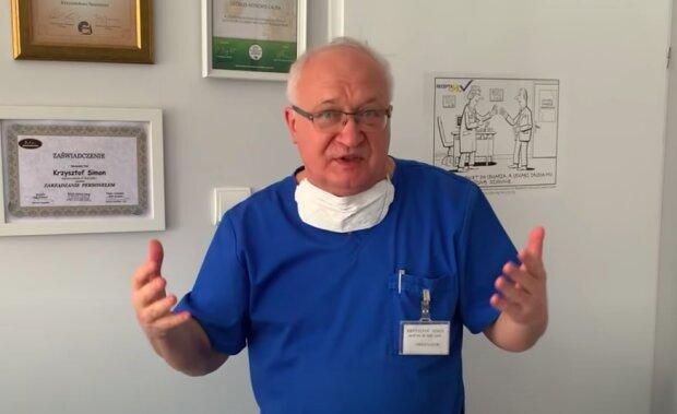 Profesor Krzysztof Simon / YouTube: Radio TOK FM