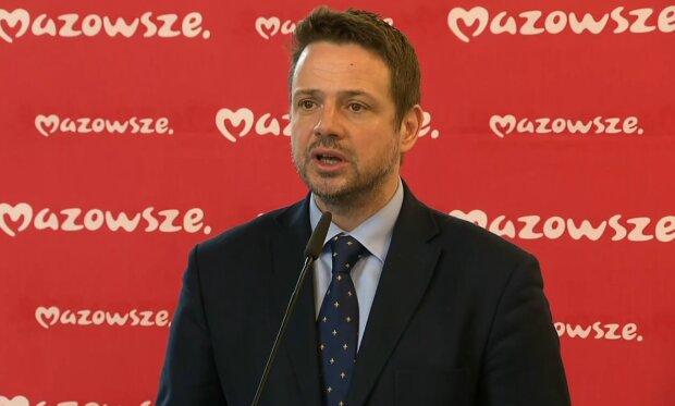 Rafał Trzaskowski/ Screen z video https://tvn24.pl/
