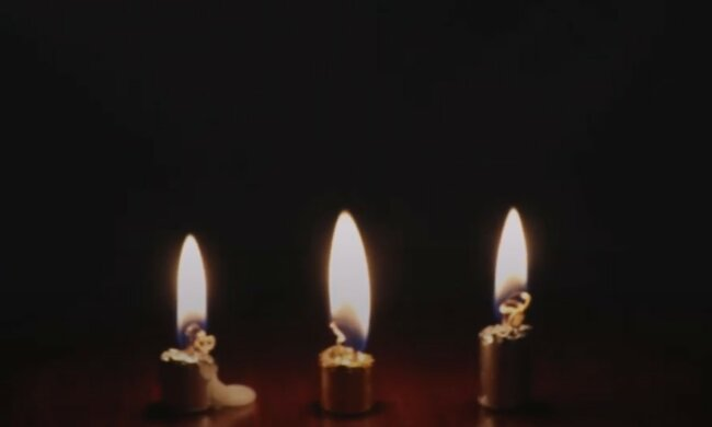 Świeca, płomień, odeszła, nie ma już z nami/Youtube