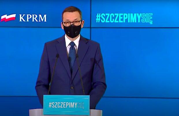 Premier Mateusz Morawiecki / YouTube: Onet News