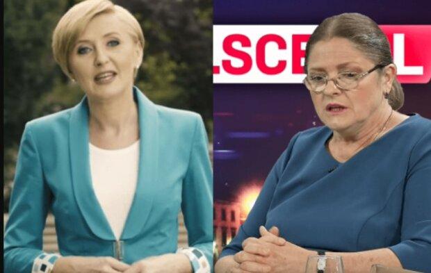 Agata Duda, Krystyna Pawłowicz/screen Youtube