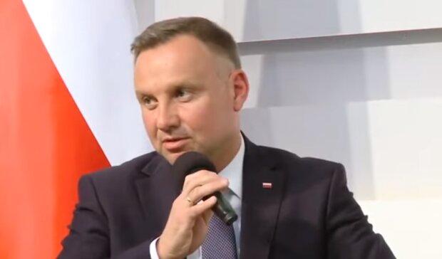 Prezydent Andrzej Duda/YouTube @Janusz Jaskółka