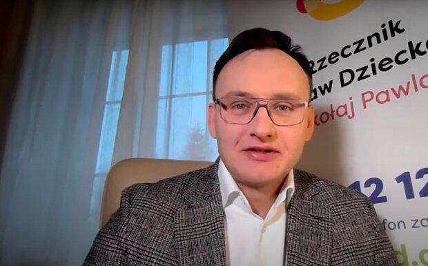 Rzecznik Praw Dziecka Mikołaj Pawlak / YouTube: Fakty RMF FM