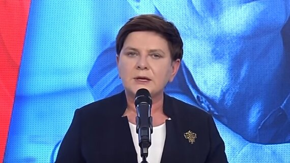Beata Szydło. Źródło: Youtube