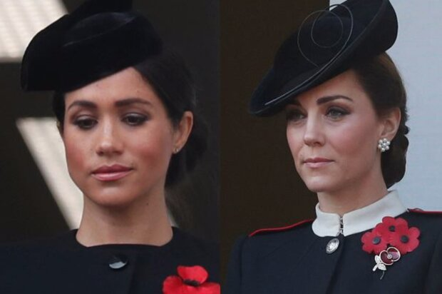 Kate i Meghan. Screen: Plotek