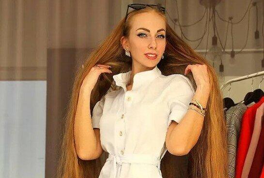 Czy ta Ukrainka ma najdłuższe włosy na świecie? Ich długość jest powalająca