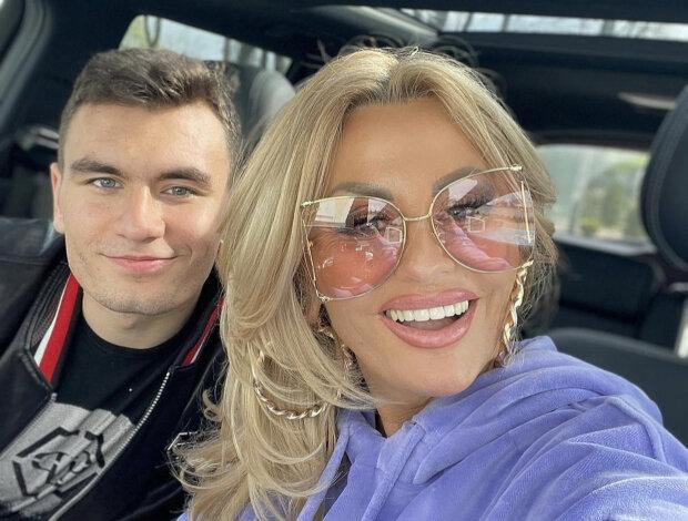 Dagmara Kaźmierska z synem. Źródło: instagram.com