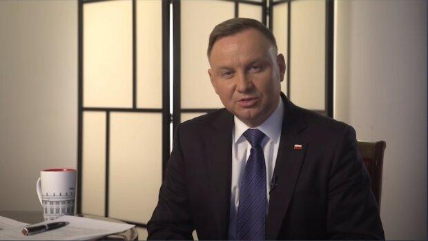 Andrzej Duda/źródło: YouTube/Prezydent.pl