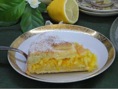 Tarte ciasto cytrynowe. Jakkolwiek to nazwiesz, ale ciasto jest pyszne