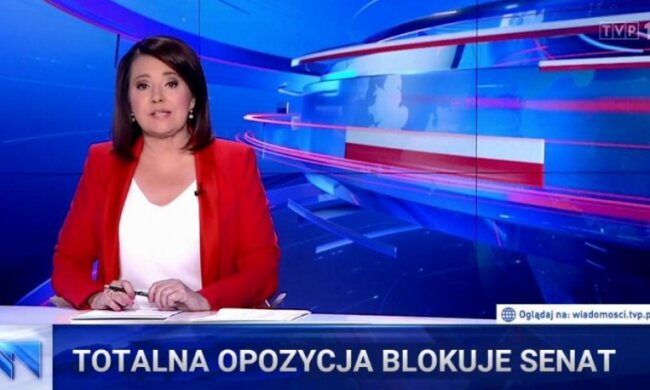 """Prawo i Sprawiedliwość nie ma większości w Senacie. """"Wiadomości"""" TVP opracowały własną teorię"""