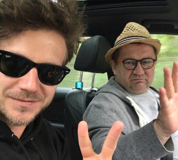 Antek Królikowski i Paweł Królikowski. Źródło: Instagram