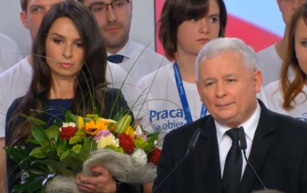 Marta Kaczyńska, Jarosław Kaczyński/screen YouTube @Super Express