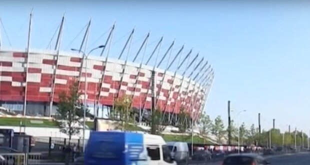 Szpital na Stadionie Narodowym/ screen YT