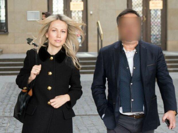 Małgorzata Ogórek z mężem. Źródło: wiadomosci.wp.pl