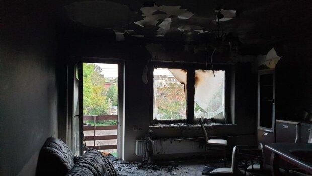 Rodzina ciężko chorego Łukasza Cabaja straciła wszystko w pożarze. Proszą o pomoc