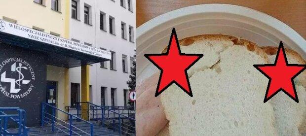 Niewiarygodne. Pacjent otrzymał spleśniałe jedzenie w polskim szpitalu. Sytuację uwiecznił na zdjęciu