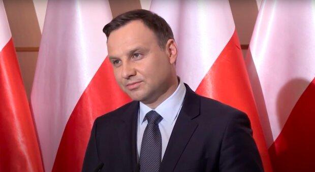 Prezydent Andrzej Duda / YouTube:  Andrzej Duda