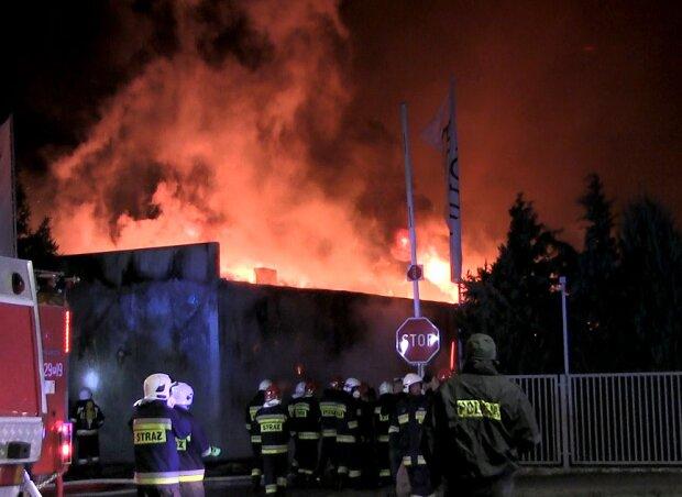 Pożar w znanym zakładzie produkcyjnym. Prawie 300 osób zostało bez pracy