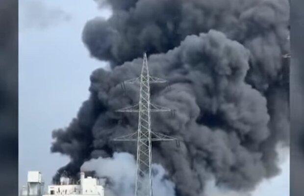 Wybuch w Leverkusen/YouTube @Welt