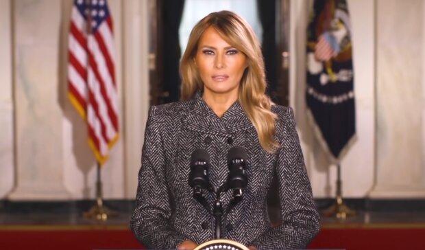 Melania Trump. Źródło: Youtube USA TODAY