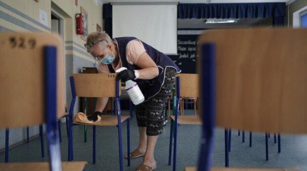 Szkoła w czasach koronawirusa. Źródło: wyborcza.pl