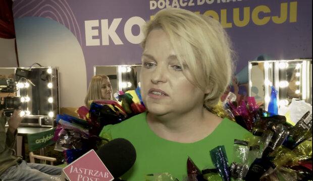 Katarzyna Bosacka. Źródło: youtube.com