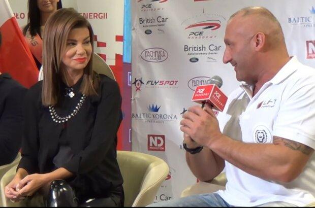 Edyta Górniak, Marcin Najman/screen Youtube @Sportowy Obiektyw