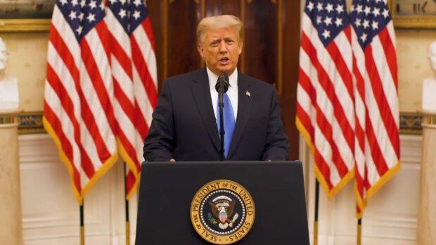 Donald Trump. Źródło: Youtube The White House