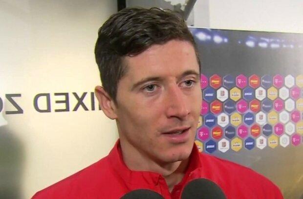 Robert Lewandowski/screen Youtube @TVP Sport