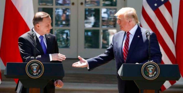 Andrzej Duda i Donald Trump / voanews.com