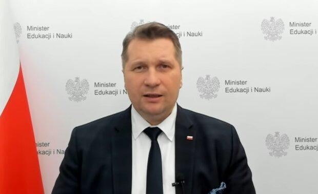 Przemysław Czarnek. Źródło: Youtube Telewizja Republika