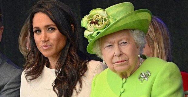 Meghan Markle i królowa Elżbieta II. Źródło: se.pl