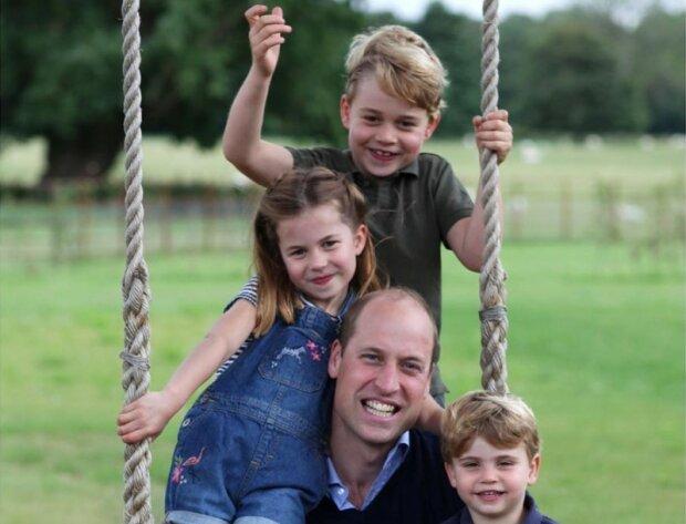 Książę William i dzieci/screen Instagram @kensingtonroyal
