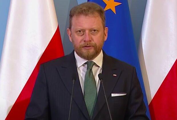 Minister Zdrowia Łukasz Szumowski / YouTube