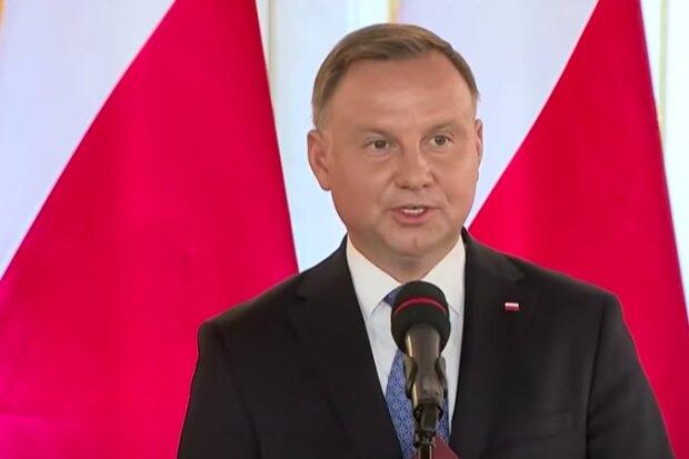 Prezydent Andrzej Duda / YouTube:  TVP Info