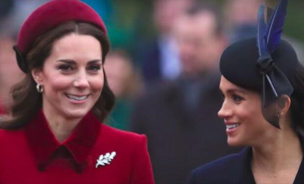 Meghan Markle i księżna Kate / YouTube:  The List