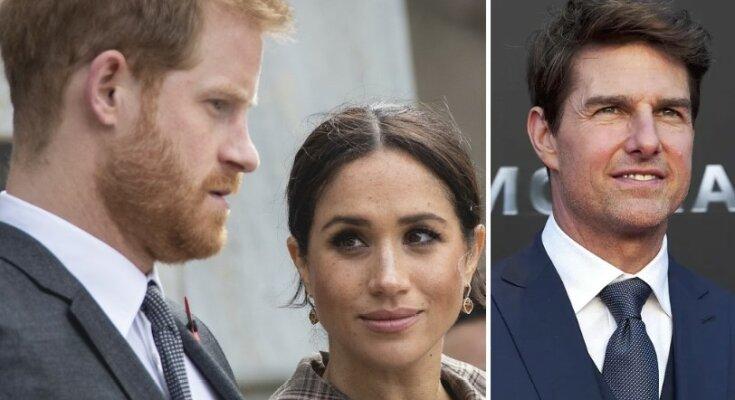 Meghan Markle i Tom Cruise przyłapani przez fotoreporterów. Ciekawe, co powie książę Harry, gdy zobaczy te zdjęcia