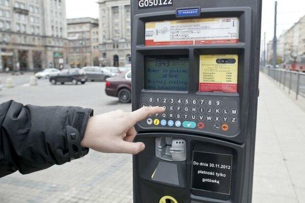 Parkometry, Warszawa