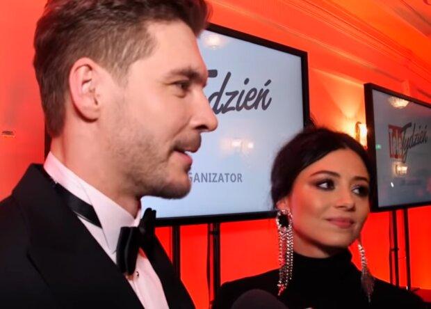 Mikołaj Roznerski, Adriana Kalska/ screen youtube